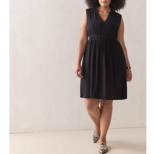 Addition Elle Black Swing Dress Sz.12